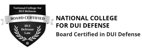 National College for DUI Defense Board Certified