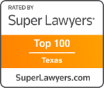 Top 100 Super Lawyers in Texas by Thompson Reuters